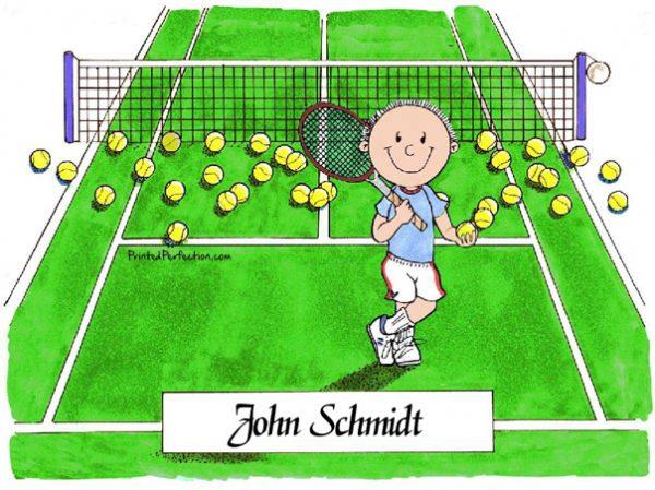 001-FF Tennis Player, Male