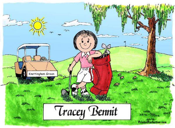 022-FF Golfer, Female