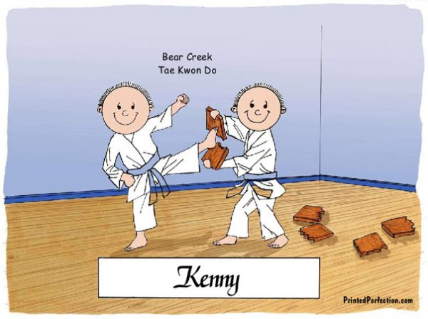 027-FF Karate