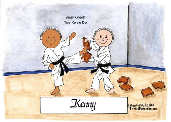 027-FF Karate - Dark Skin