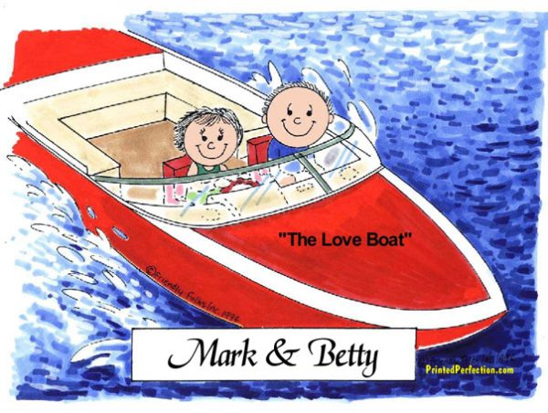 034-FF Boating Couple