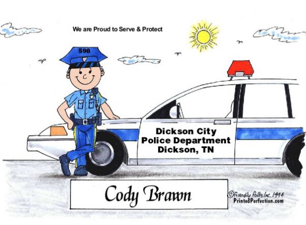 037-FF Police Officer, Male