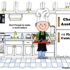 042-FF Chef, with Hat, Male