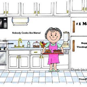 044-FF Chef, Female, no hat