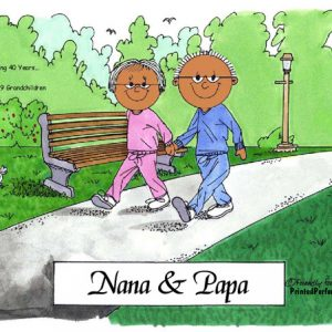 047-FF Grandparents - Dark Skin