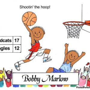 049-FF Basketball, Male - Dark Skin