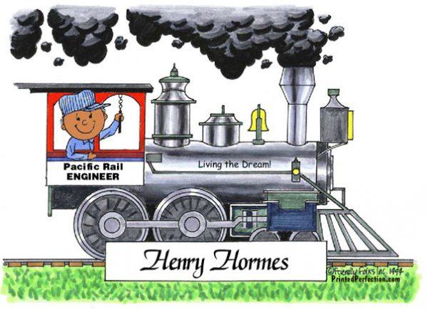 054-FF Train, Male - Dark Skin