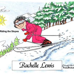 055-FF Skier, Snow, Female