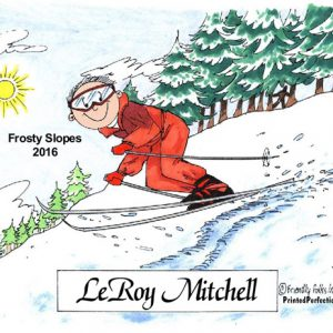 056-FF Skier, Snow, Male