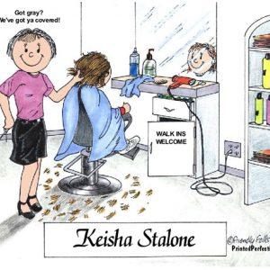 057-FF Hairdresser, Female