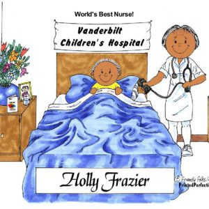 063-FF Nurse, Female - Dark Skin
