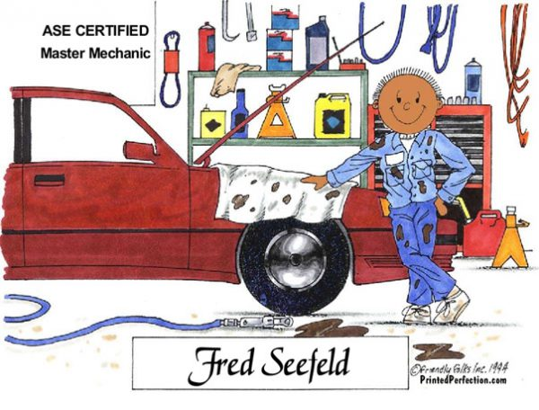 067-FF Auto Mechanic, Male - Dark Skin