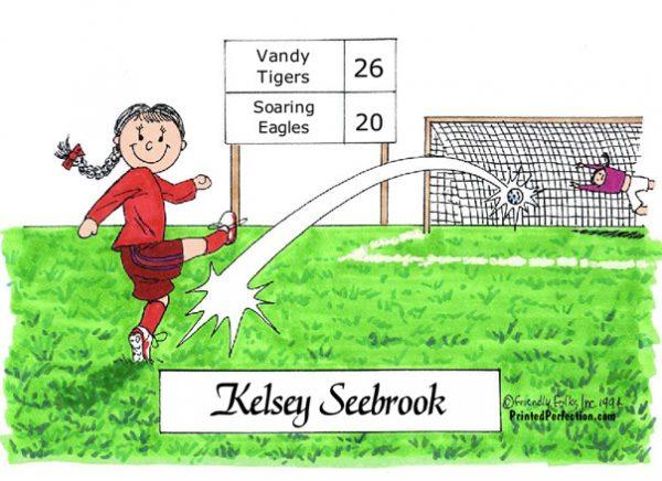 068-FF Soccer Player, Female