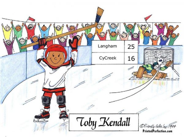 069-FF Hockey Player