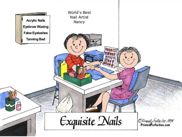 072-FF Manicurist, Nail Tech, Female