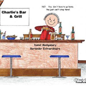 073-FF Bartender, Male