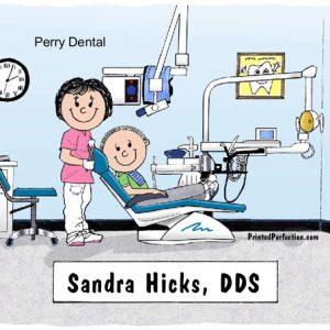 075-FF Dentist, Female