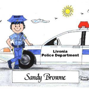 076-FF Police Officer, Female