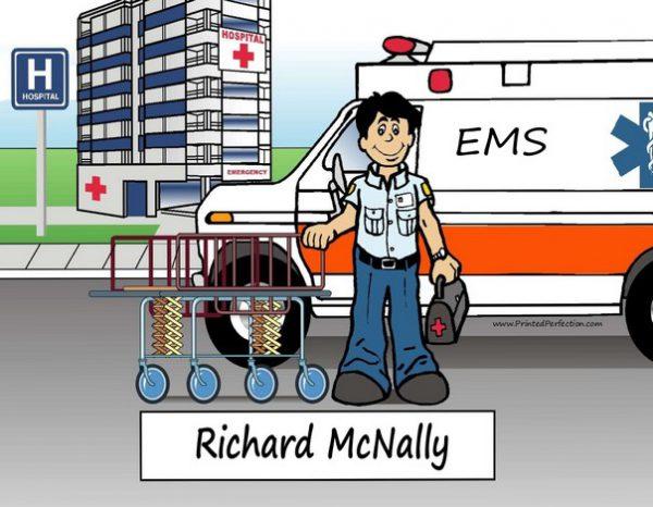 080-NTT EMT, Paramedic, Ambulance, Male