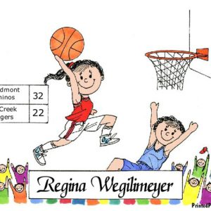083-FF Basketball Player
