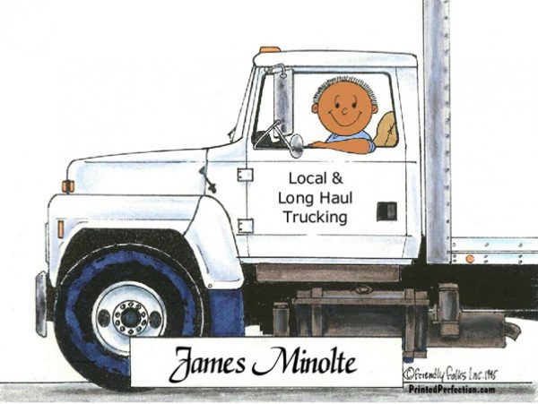 085-FF Truck Driver , Delivery
