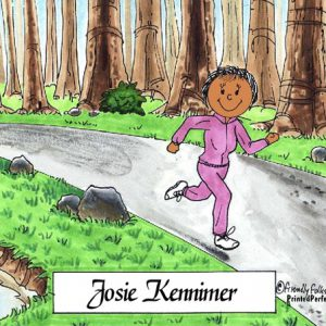 088-FF Jogger, Female - Dark Skin