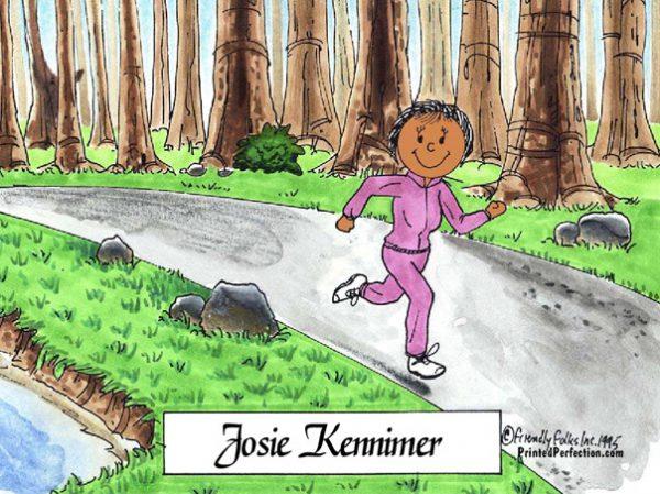 088-FF Jogger, Female - Dark Skin