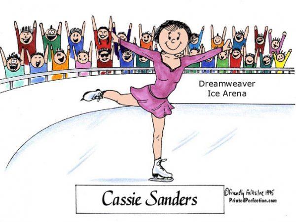090-FF Ice Skater, Female