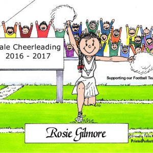 093-FF Cheerleader, Female