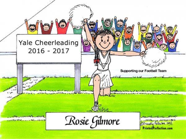 093-FF Cheerleader, Female