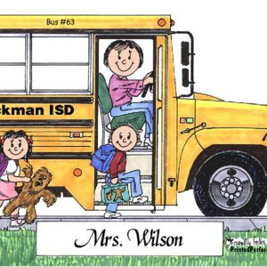 100-FF School Bus Driver, Female