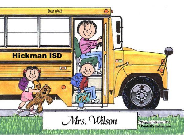 100-FF School Bus Driver, Female