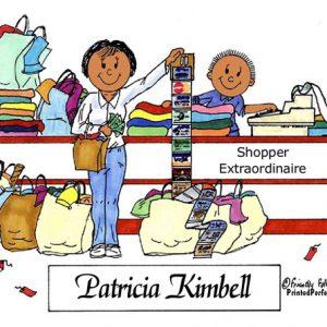 103-FF Shopper, Female - Dark Skin