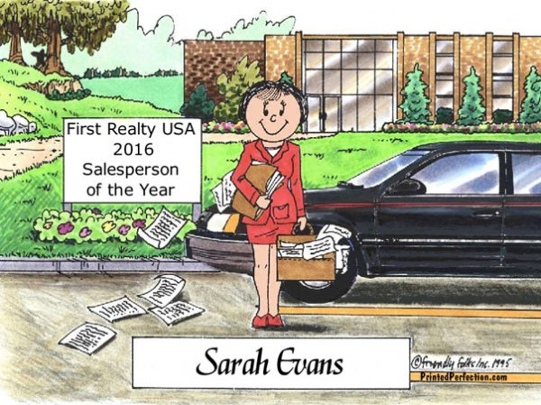 105-FF Salesperson, Female