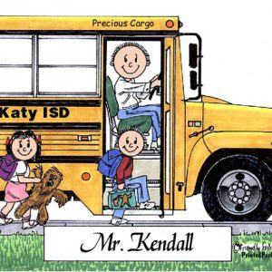 106-FF School Bus Driver, Male