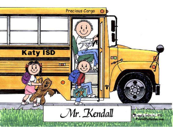 106-FF School Bus Driver, Male
