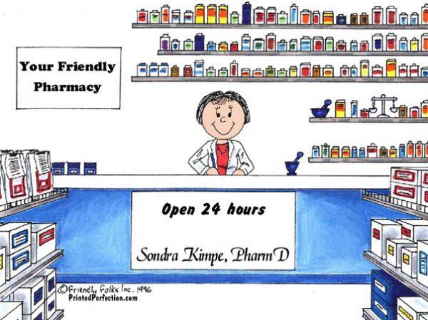 121-FF Pharmacist, Female