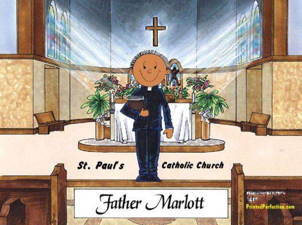 123-FF Priest, Male - Dark Skin