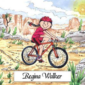 126-FF Cyclist