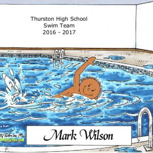 128-FF Swimmer - Dark Skin