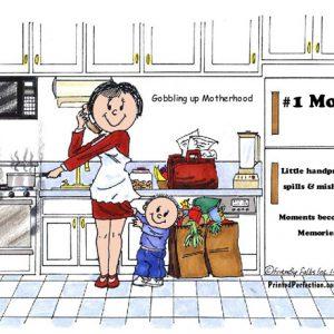 133-FF #1 Mom