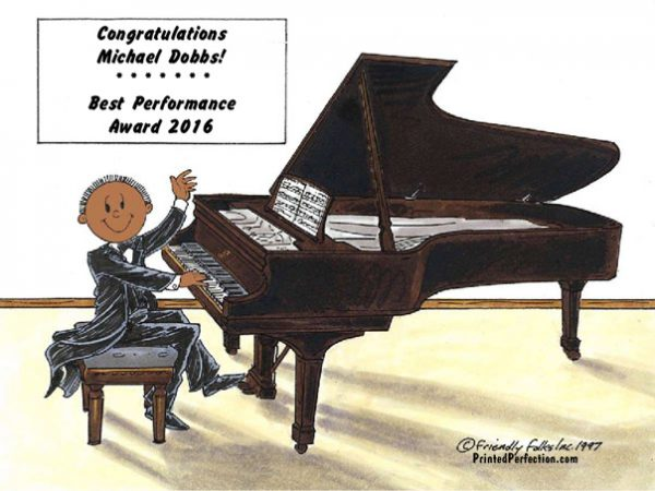 141-FF Piano Player, Male - Dark Skin