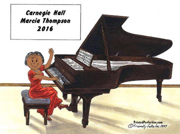 142-NTT Piano Player, Female - Dark Skin