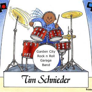 144-FF Drummer, Male - Dark Skin