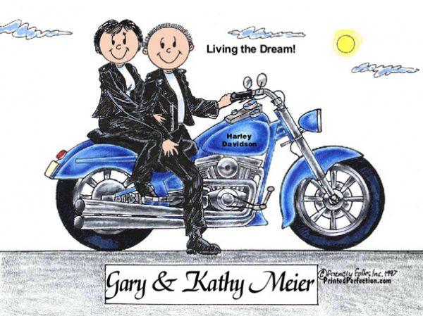 150-FF Motorcycle, Couple