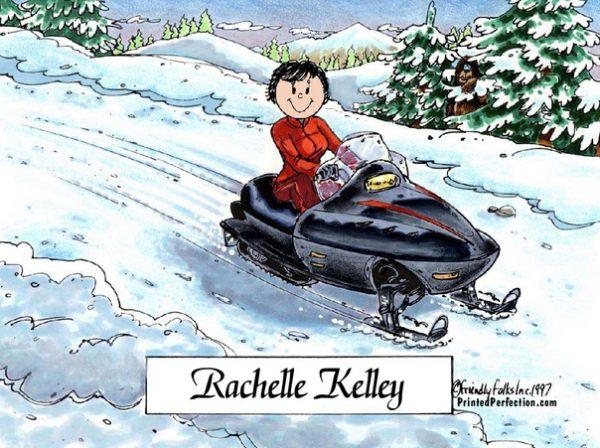 159-FF Snowmobile, Female