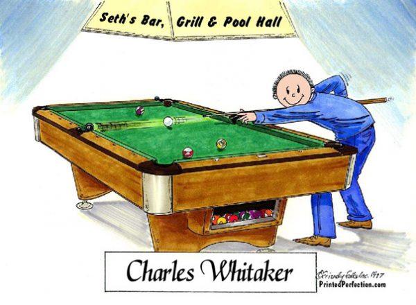 162-FF Pool Player, Billiards, Male