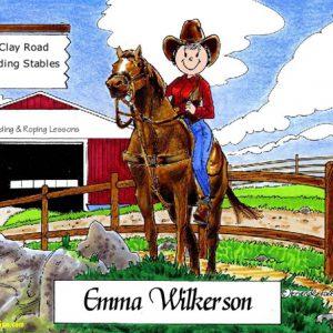 171-FF Cowgirl
