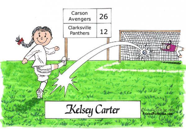 177-FF Soccer Player, Female