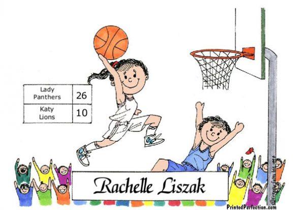 182-FF Basketball Player, Female